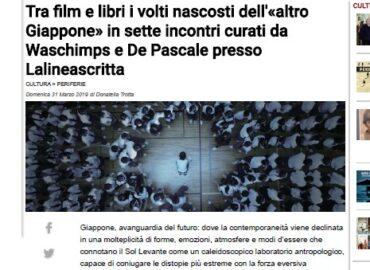 articolo di donatella trotta per il Mattino di Napoli, 31 marzo 2019