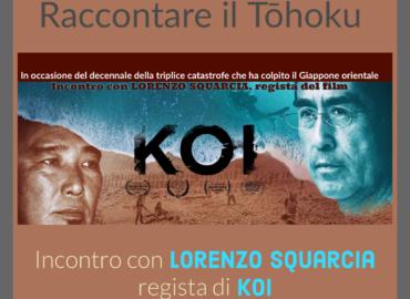 copertina del video incontro con Lorenzo Squarcia, regista del documentario KOI