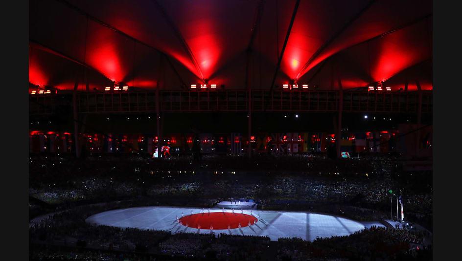 la cerimonia del passaggio della bandiera da rio 2016 a tokyo