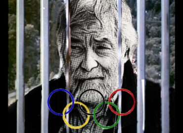 foto di pio d'emilia in una tokyo blindata per le olimpiadi